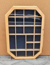 Vitrina compartimentos. Ref 93103. 38x28x6 fondo.