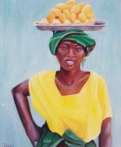 marchande d'oeufs en Guinée