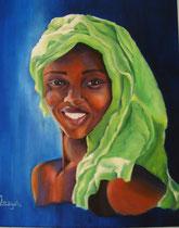 collection privée jeune beauté ivoirienne
