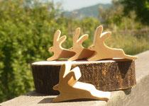 4羽のうさぎの箸置き&パズル
