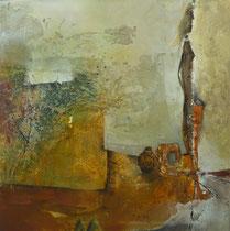 """""""Trommel, Krug und Co""""  80 x 80 cm,  2011"""