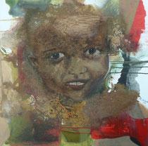 """wewe ni rafiki""  80 x 80 cm,  2011"
