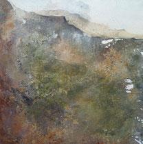 """""""Silberrücken""""  90 x 90 cm,  2011"""