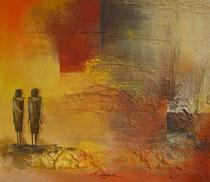 """""""Tansania 2""""  60 x 70 cm,  2008"""
