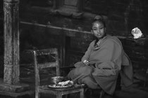 Woman in the streets of Patan, Nepal 1993