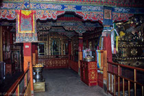 Meitreya room in Potala Palace, Lhasa, Tibet 1993