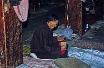 Old man in Drepung Monastery, Tibet 1993