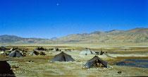 Nomads near Old Tingri, Tibet 1993