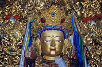 Jobo Shakyamuni, Jokhang Monastery,  Lhasa, Tibet 1993
