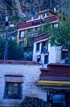 Drahlha Lubuk Temple, Lhasa, Tibet 1993