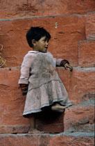 Young girl, Durbar square, Kathmandu, Nepal 1993
