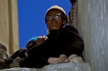 Spectator at a festival in Phyang Monastery, Ladakh 1994