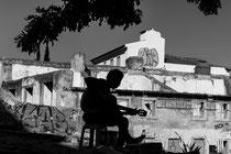 Musician in Lisbon, Portugal 2016