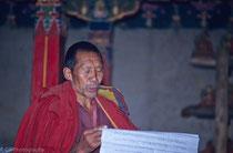 Monk in Ganden Monastery, Tibet 1993