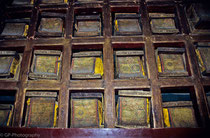Old Tibetan books in Meitreya-Room, Potala Palace, Lhasa, Tibet 1993