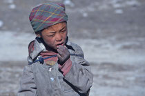 Little boy in Sakya, Tibet 1993