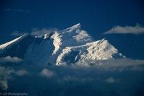 Mountain of Dhaulagiri range from Poon Hill, Nepal 1988