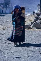 Young woman in Shigatse, Tibet 1993