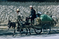 In the streets of Shigatse, Tibet 1993