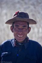 Man in Tashilhuenpo Monastery, Shigatse, Tibet 1993