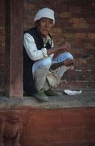 Man, Durbar square, Kathmandu, Nepal 1993