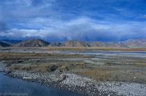 Landscape near Old Tingri, Tibet 1993