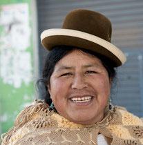 Peruanerin in Puno/ Peru