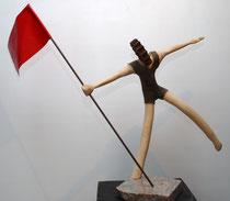 Der letzte echte Proletarier!    Apfelholz, 60cm