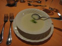 カブのスープ。塩麹が使ってあるそうです。