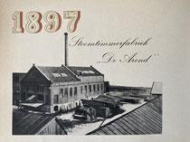 """Stoomfabriek """"De Arend"""" Rotterdam"""