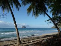 Photo touristique : plage du Diamant