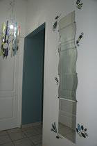Couloir : accès chambres du rez-de-chaussée