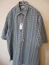 オーバーサイズのチェックのチロルシャツ thanks sold