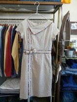 ●コットン刺繍ワンピース  ¥5900