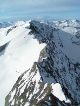 Arête sud du mont Pourri