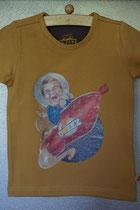 T'shirt raket, maat 86/92, 98/104, 110/116, 122/128, 134/140. Prijs 12,95 excl. verzendkosten