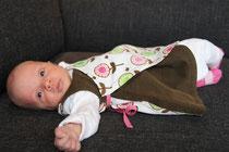 Op 1 juli 2011 is dit schatje geboren en dat werd gevierd in haar feestjurkje!