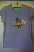 T'shirt retro bus, maat 86/92, 98/104, 110/116, 122/128, 134/140. Prijs 12,95 excl. verzendkosten