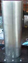 Chromstahlbrunnen U-Form