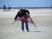 Space Kites - Topas 1.7 , Breite/Höhe: 170/86 cm, Bft: 1?-6