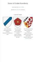 Orsini-Rosenberg coat of arms
