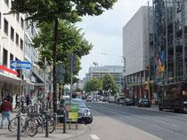 Straße in der Innenstadt (Name: A)