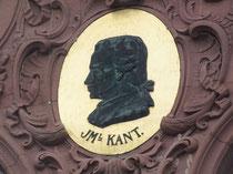 Bildnis Kant am Hauptgebäude