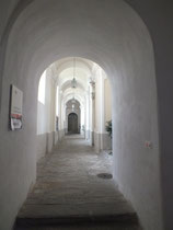 Abtei/Kloster, gang zur Marienkappelle
