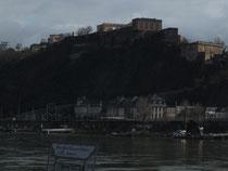 Blick auf die Festung Ehrenbreitstein (1817 - 1828)