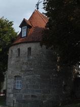 Alter Wehrturm der Stadtmauer