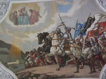 Deckenmalerei in Klosterkirche St. Martin