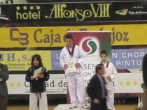 David Pérez Sánchez. Medalla de Oro.