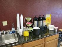 Beispiel: Motelfrühstück