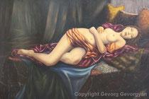 Sehnsucht, 2013, Öl auf Leinwand, 103x70